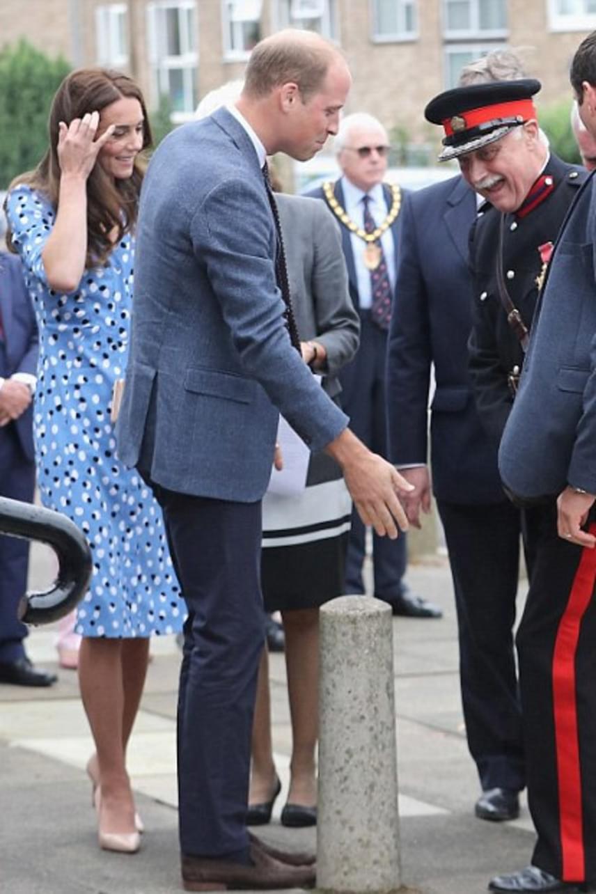 Szerencsére Lord Jonathan Douglas-Hughes-nak nem esett baja, a végén már csak nevetett azon, hogy milyen kínos helyzetbe hozta magát a hercegi pár előtt.