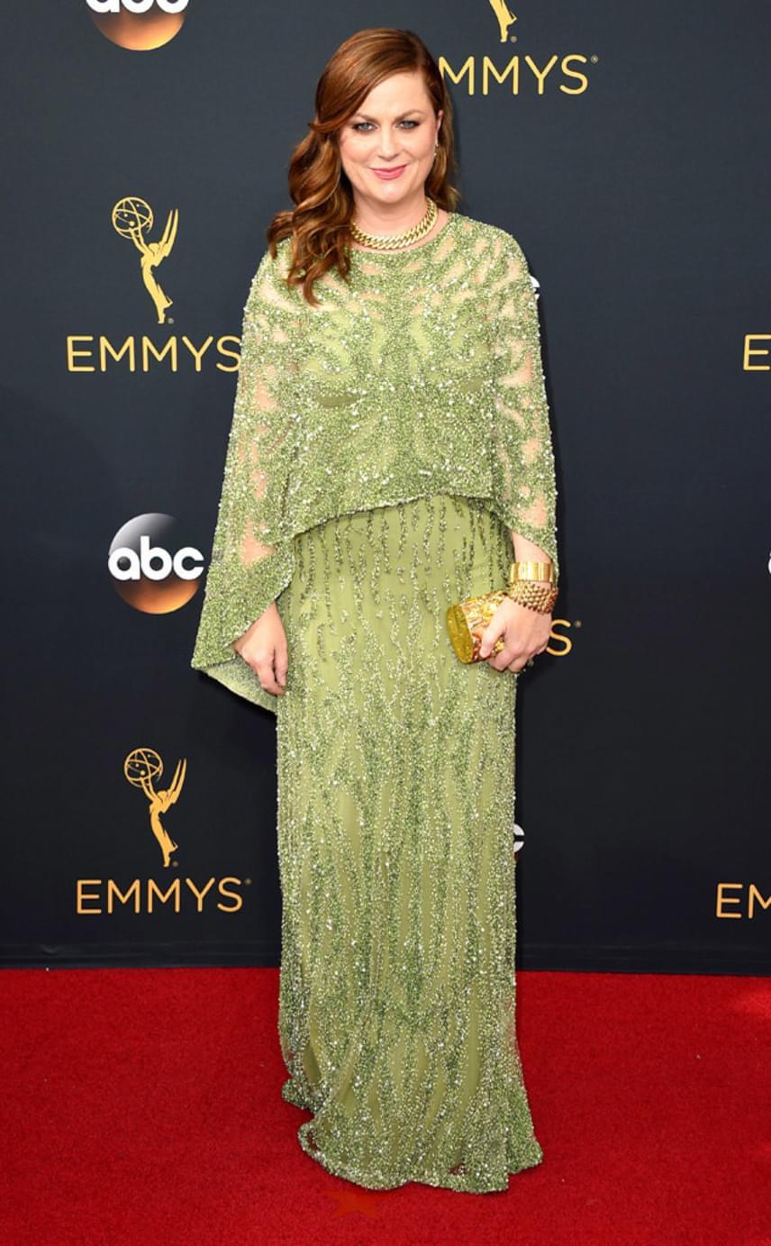 Amy Poehler nagymamásra vette a figurát: túlságosan visszafogott, földig érő darabja nem nyerte el a rajongók tetszését.
