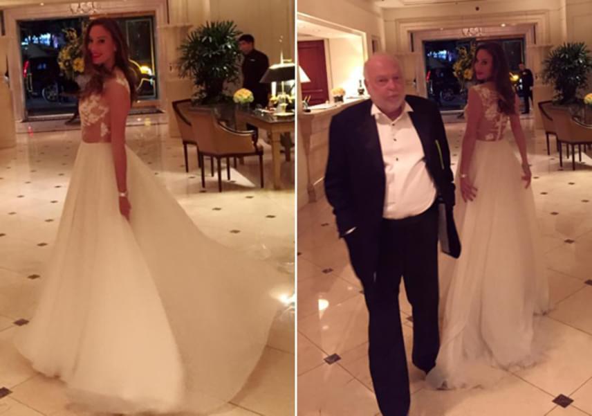 Vajna Tímea és férje 2016 februárjában magánrepülőgéppel érkeztek Los Angelesbe, ahol részt vettek a filmvilág legrangosabb eseményén, az Oscar-gálán. Az üzletasszony egy menyasszonyi ruhának is beillő, Benes Anita által tervezett estélyit választott, merész, csipkés felsőrésszel.