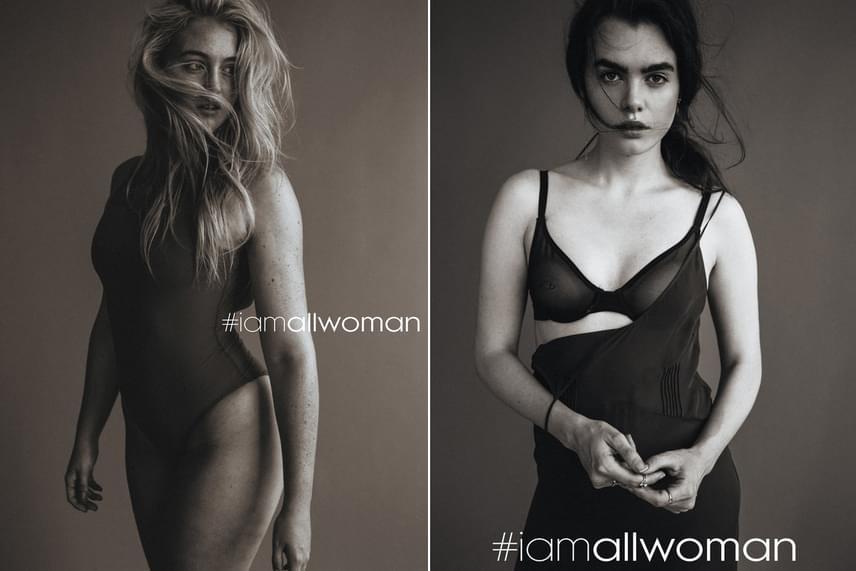 A modellek közé nem csak molett nőket válogattak. A legfontosabb szempont az volt, hogy a szereplők az elvekkel is összhangban legyenek. A fotókat ezért Heather Hazzan és Lily Cummings készítette, akik maguk is molett modellek. A normál és molett méret közötti modellek egyike volt Iskra Lawrence, a kép bal oldalán, míg a jobb oldalon az ötletgazdát, Charli Howardot láthatod, aki a vékonyabb lányok közé tartozott.