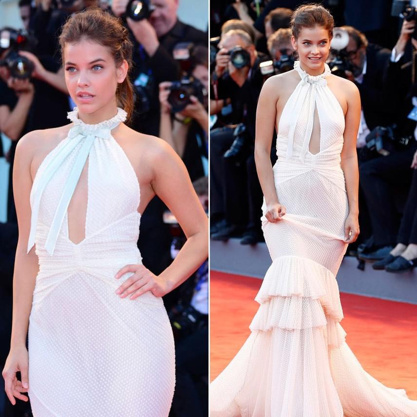 Szeptember elejn, a 73. Velencei Nemzetközi Filmfesztivál nyitóeseményén egy szexi, uszályos ruhakölteményben vonult végig, amelyet Philosophy di Lorenzo Serafini tervezett.