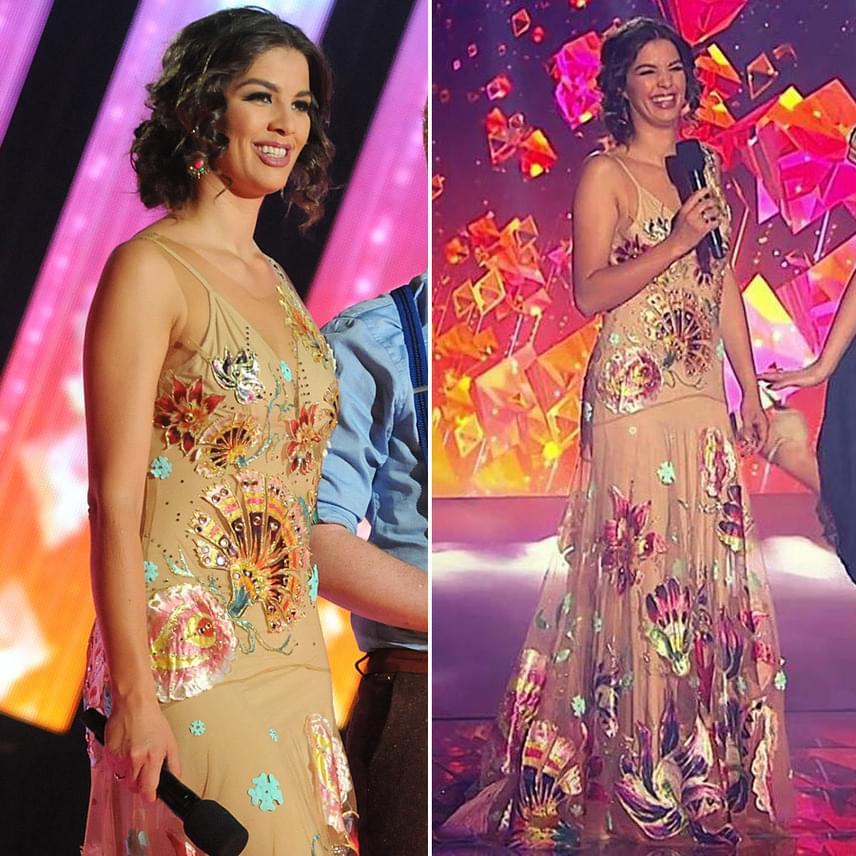 Majka szerint Ördög Nóra a harmadik ruhájában mórahalmi Jennifer Lopezként tért vissza a színpadra a reklámszünet után. A nézők szerint ez a kreáció volt a legszebb - szintén Sugarbird darab.