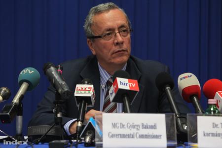 Bakondi György, a MAL Zrt. kormánybiztosa