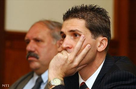 2005-ben a vádlottak padján (Fotó: Honéczy Barnabás)