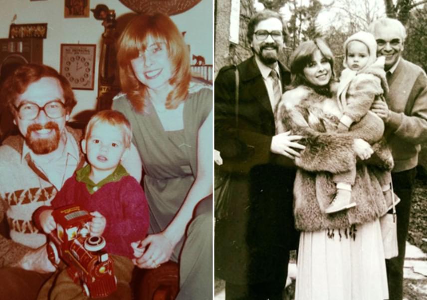 Soha nem látott fotók a Vágó családról. Péter büszkén osztotta meg az 1980-as évek elején készült gyerekkori képeket Facebook-oldalán. Az egykori tévést szinte fel sem lehet rajtuk ismerni.