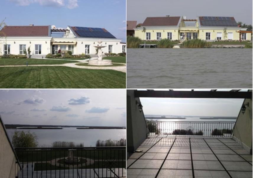 A Korda házaspár egykori villája nagyon energiatakarékos: a képeken nemcsak az látható, hogy pazar kilátás nyílik onnan a tóra, hanem az is, hogy napelemek borítják a tetőt. A házban geotermikus fűtőrendszert is kiépítettek.