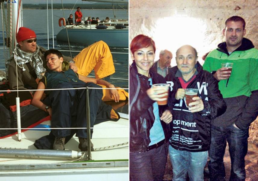 Az RTL Klub híradósa, Erős Antónia 1997-ben ment feleségül Tóth Lászlóhoz, akit Pécsett, a helyi televíziónál ismert meg. Kapcsolatukból 2009. július 31-én ikrek születtek: Matyi és Szonja idén kezdték el az első osztályt.
