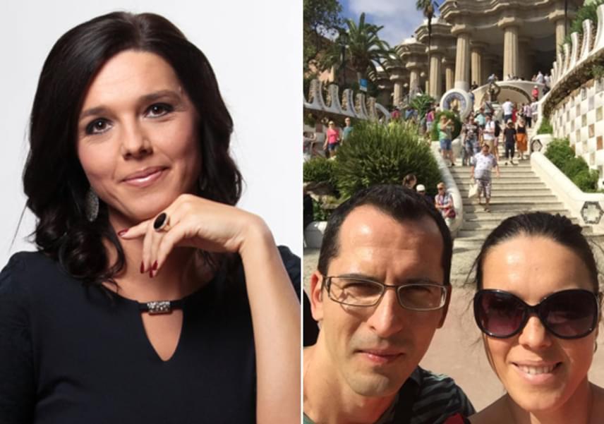 Szöllősi Györgyi és férje méltón megünnepelték 22. évfordulójukat: Spanyolországba szöktek romantikázni, és kipihenni az év fáradalmait.