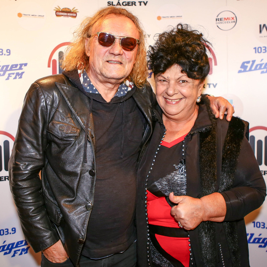 A hazai zenei élet két állócsillaga, Charlie és Bangó Margit.