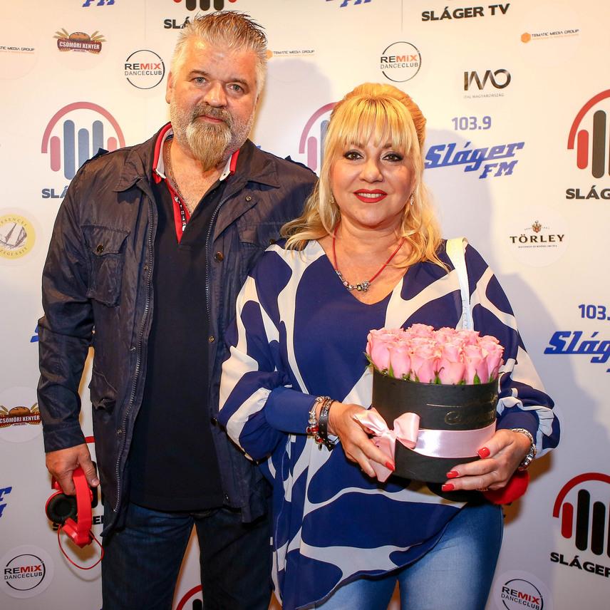 26 éve találkozta, azóta együtt van jóban és rosszban Zoltán Erika és férje, Kátai Róbert.