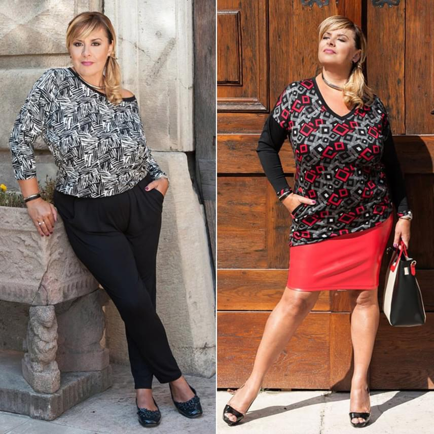 Szulák Andrea 52 évesen is igazi díva, akiről a fotók alapján bárki megállapíthatja, hogy remek formában van.