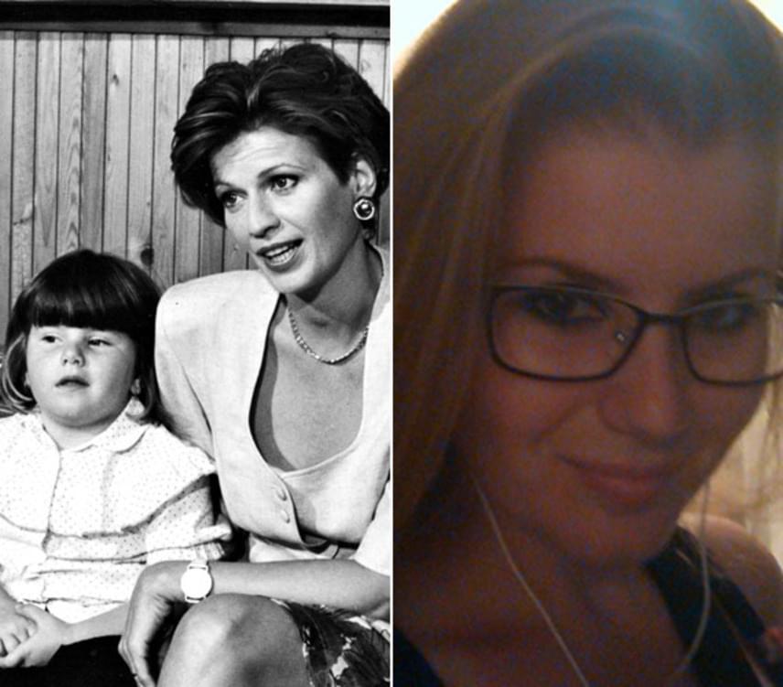 Frajt Edit alakította a Szomszédokban a kozmetikus Julit. A sorozat készítői terhességét is beleírták a sorozatba, majd miután megszületett Franciska, ő lett a sorozatbeli lánya, Flóra. Az ifjú hölgy ma már 27 éves.