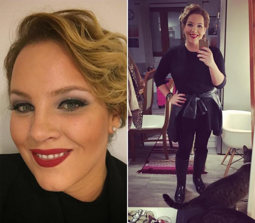 Az énekesnő eddig 32 kilót adott, volt, hogy a ruháit kéthetente le kellett cserélnie, olyan ütemben fogyott.