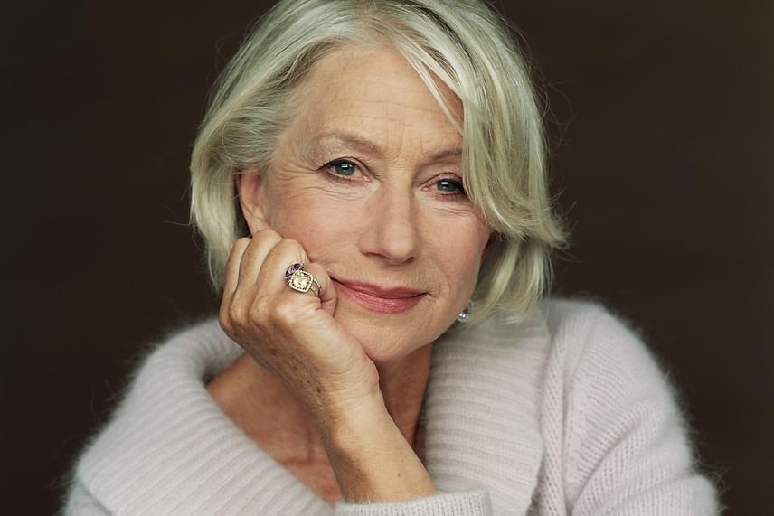 Helen Mirren gyönyörű vonásain semmit sem csorbított az idő: a színésznő arca 89,93%-ban egyezik az ideálissal.