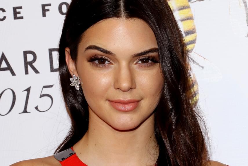 Kendall Jenner arca 90,18-%-ban egyezik meg az ideállal, így az ötödik a listán.