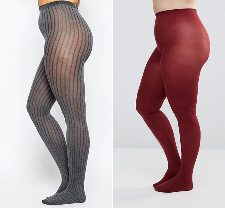 Nemcsak a nadrág lehet színes, de akár egy tarka harisnya is szépen hangsúlyozhatja a lábaidat, míg a hosszanti minta nyújtja az alakod. Párosítsd ezt egy A-vonalú vagy trombita fazonra szabott szoknyával, és máris nagyon harmonikus lesz az összhatás!