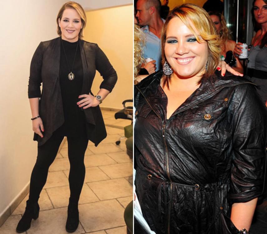 120 kiló is volt, most 70 a cél. Tóth Vera a gyomor bypass műtétje óta 32 kilót fogyott, egy éven belül még 20-at szeretne leadni. 30-40 perces vibrációs tréningre jár hetente háromszor, emellett negyedét eszi, mint korábban.