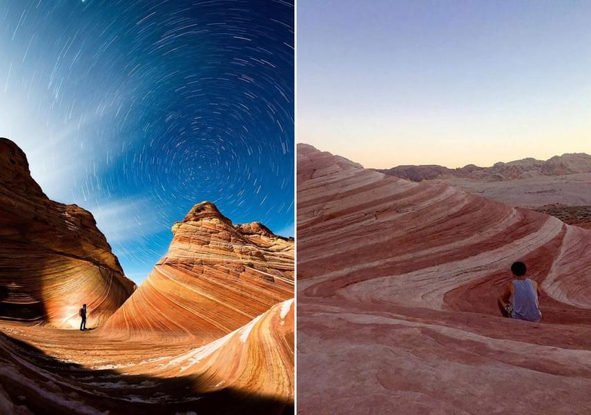 Arizona vörös sziklái sem egészen olyanok a valóságban, mint a profi fotókon.