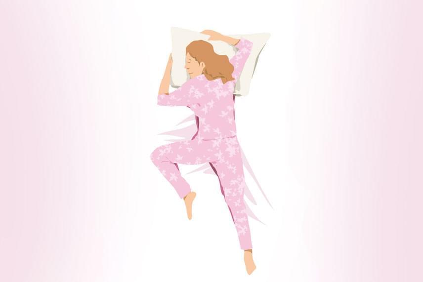 Ha úgynevezett szabadesés pozícióban ébredsz, karjaid kétoldalt helyezed el, egyik lábad felhúzod, a másikat elnyújtod, arcod pedig oldalra néz.Tudatalattid azt üzeni, valami aggaszt. Ideges, stresszes vagy, és bár nem akarod mutatni, valójában sebezhető is.