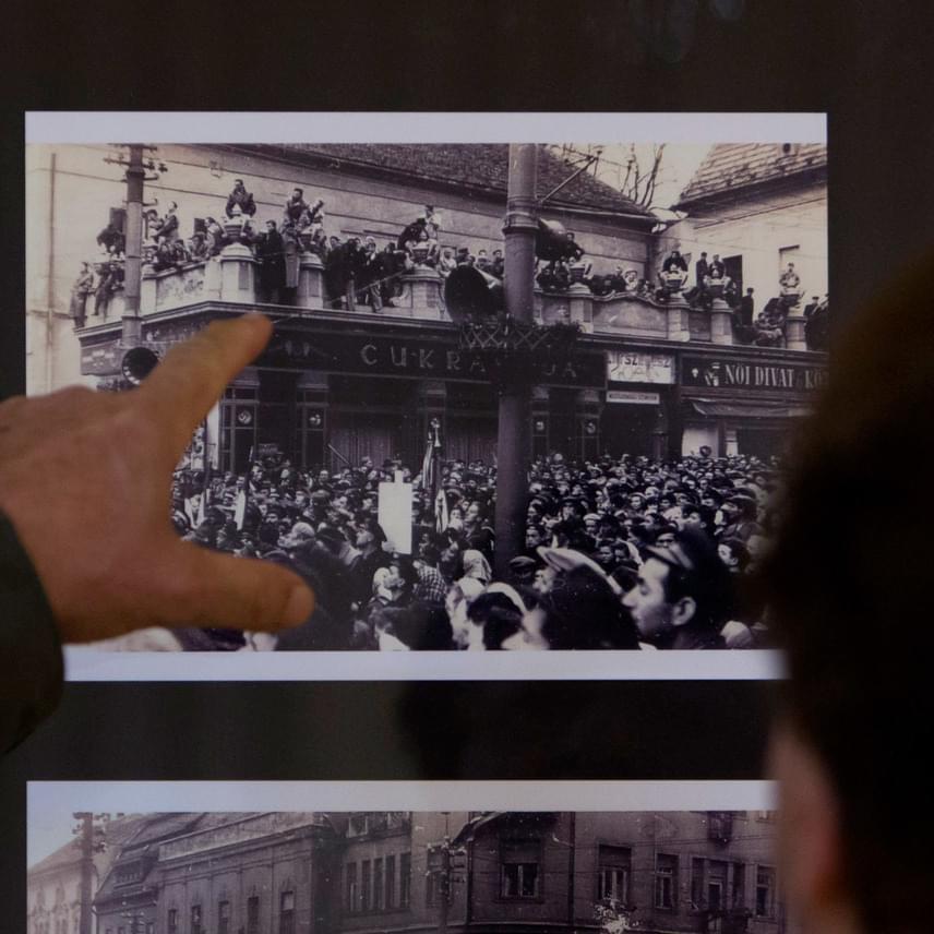 A kiállítás szervezői arra kérték a megnyitó résztvevőit, köztük az 1956-os forradalmat megélt kaposváriakat, szóljanak, ha felismernek valakit a képeken, azzal ugyanis hozzájárulnak az 1956-os történésekről szerzett információk bővítéséhez.