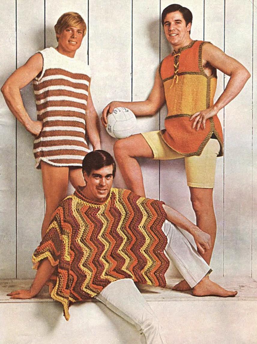 Mondjuk úgy, hogy nem a hetvenes évek volt a férfidivat fénykora.