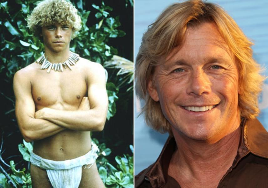 Christopher Atkins csupán 19 éves volt, amikor Richard karakterét játszhatta el A kék lagúnában. A most 55 éves színész 1985 óta házas, két gyermeke van, de valójában sosem tudta megismételni akkori sikerét, melyet A kék lagúnával szerzett.