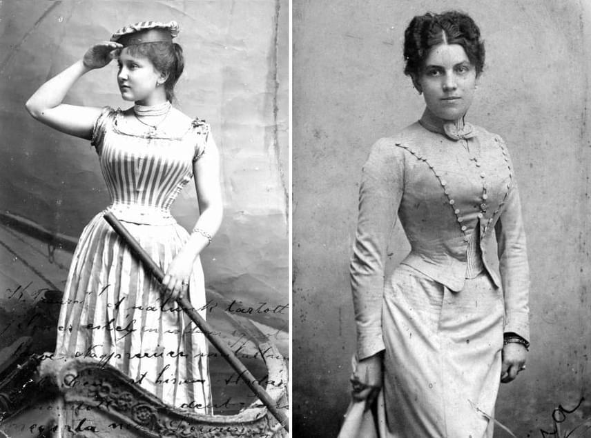 Sok szempontból még irreálisabbak voltak az elvárások, mint ma. Nemcsak a kerek popsit és a telt kebleket tartották vonzónak, de mellé darázsderekat követelt meg a divat. A nők éppen ezért kénytelenek volt fűzőt viselni, sőt, számos ruhabetét biztosította, hogy elöl és hátul kellőképpen nőiesnek mutatkozzanak az idomaik.