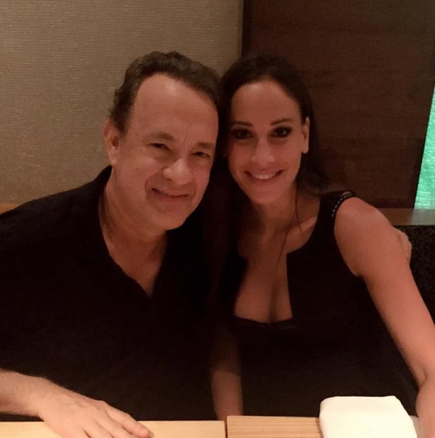 Tom Hanksszel a Nobu étteremben vacsorázott Vajna Timi. Az Oscar-díjas színész a jelek szerint elolvadt Andy Vajna feleségétől.