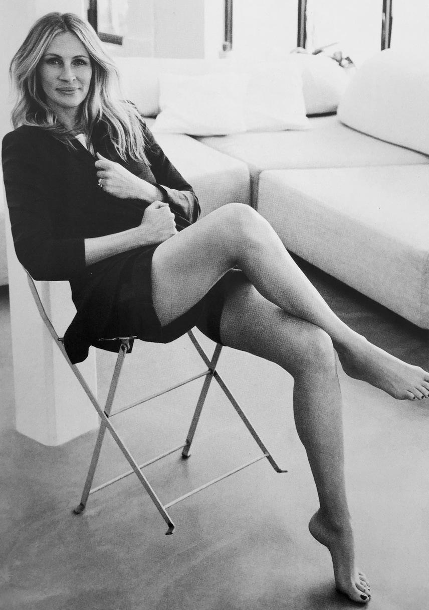 Alexi Lubomirski 2015-ben készítette ezt a stílusos felvételt Julia Roberts-ről, aki 50 felé közeledve is lenyűgözően néz ki.