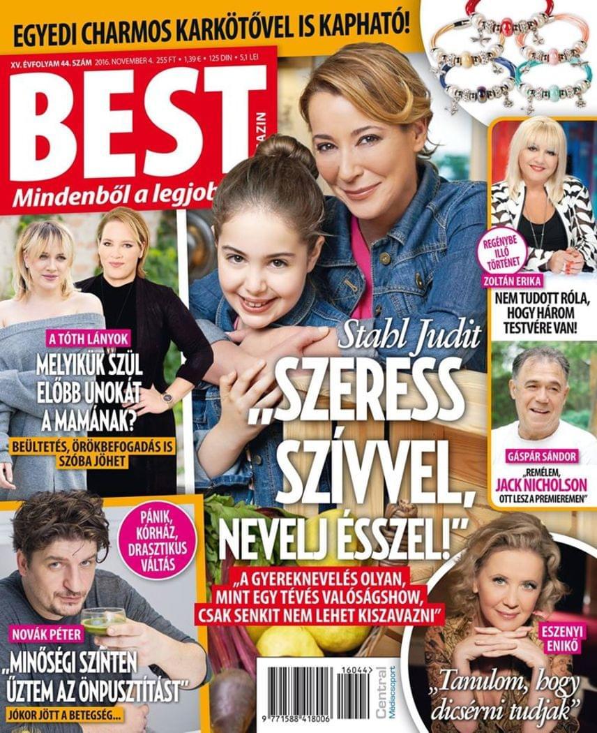 Stahl Judit a Best magazinnak elárulta, lánya nemcsak a színpadon, de a táncban és a főzésben is egyaránt tehetséges, emellett kiváló tanuló, azonban a kamaszodás jeleit már észreveszi rajta.