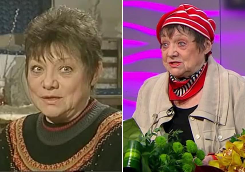 Csűrös Karola alakította Szikszay Etust, Juli keramikus édesanyját, aki a minap ünnepelte 80. születésnapját. A színésznő bevallotta, kétségbe van esve életkora miatt, és legszívesebben a 30-as éveibe repülne vissza.