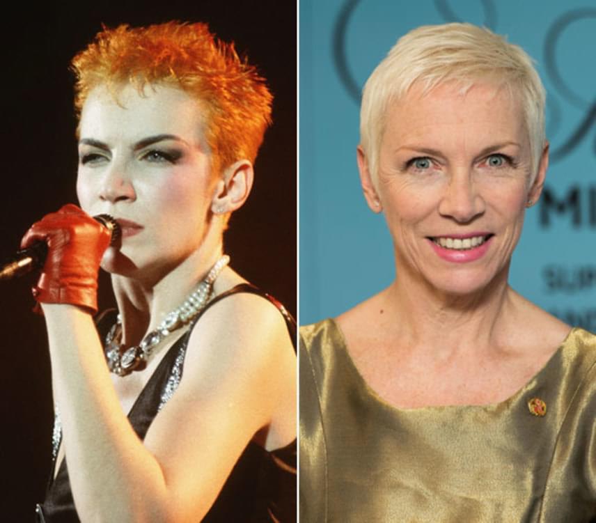 Annie Lennox 2016 decemberében ünnepelte 62. születésnapját, a skót énekesnő pedig a mai napig remekül néz ki. A Eurythmics együttes egykori tagja az elmúlt években szólókarrierjére koncentrált: 2014-ben például Nostalgia címmel adott ki egy soul-jazz műfajú albumot.