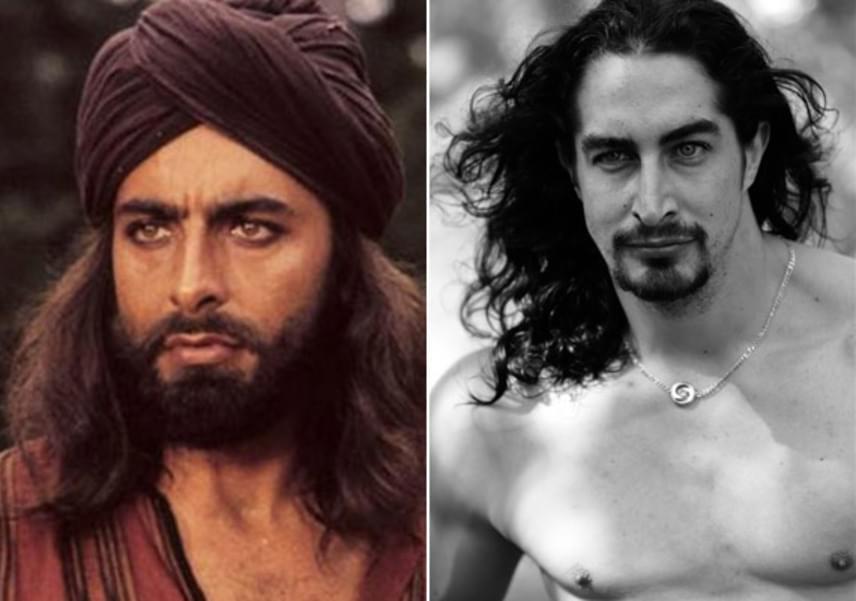 Ugyanaz az átható, marcona tekintet, ugyanazok a vad vonások: Kabir Bedi és fia ikreknek tűnnek egyidős korukban.