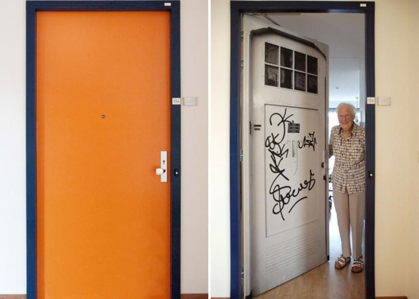 Előtte és utána: az idősek otthona lakói imádják a különleges ötletet, és így valóban otthonosabban érzik magukat a szobájukban.