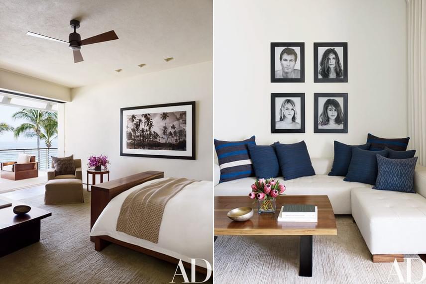 A nappali és a szobák berendezéséért Ralph Lauren volt a felelős, a fotókat pedig Bowen Smith készítette a család tagjairól.
