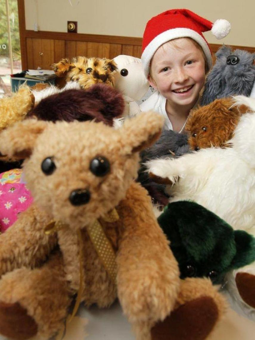 Kilencéves volt, amikor megkérdezte a szüleit, vihet-e karácsonyi ajándékot a kórházban lévő gyerekeknek.