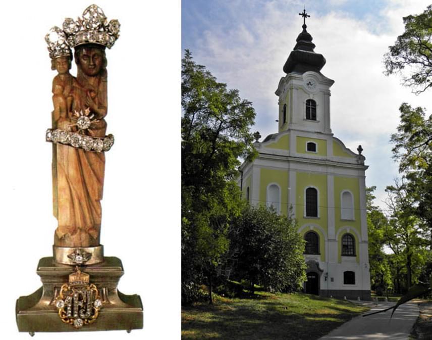 A mára Gödöllő részeként ismert Máriabesnyőt egy szobor szokatlan története tette híressé. A török hódoltság idején elpusztult népes falu romjaira az 1700-as években Grassalkovich Antal gróf építtetett egy templomot. A romok eltakarítása közben találtak rá Szűz Mária szobrára, amely teljesen épen vészelte át a nehéz időket. Később több csodát és imameghallgatást is kötöttek a helyhez.