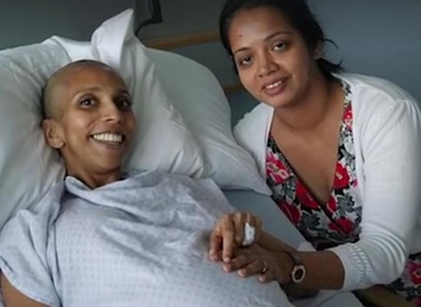 A baba érdekében életét kockáztatva késleltette a rák kezelését. Mindeközben a terhességnek a hormonrendszerére gyakorolt hatása miatt a rák az átlagosnál gyorsabban terjedt mellében.