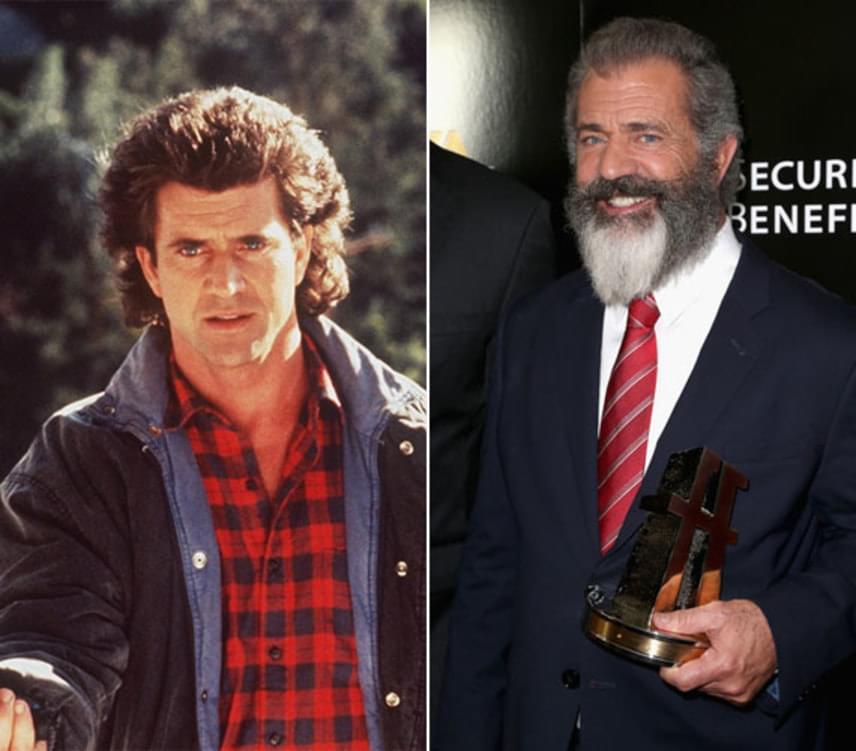 Martin Riggs bőrébe Mel Gibson bújt, aki remekül játszotta el a felesége halála után öngyilkossági gondolatokkal viaskodó nyomozót. Mel Gibson 2016-ban ünnepelte 60. születésnapját, és karrierjét majdnem tönkretette 2006-os részegen elkövetett botránya. Azóta abbahagyta az ivást, és 2016-ban színészként és rendezőként is nagy sikerrel tért vissza. A fegyvertelen katona című háborús filmje óriási kritikai sikert ért el, de Az utolsó emberig című filmben nyújtott alakítását is sokan szerették.