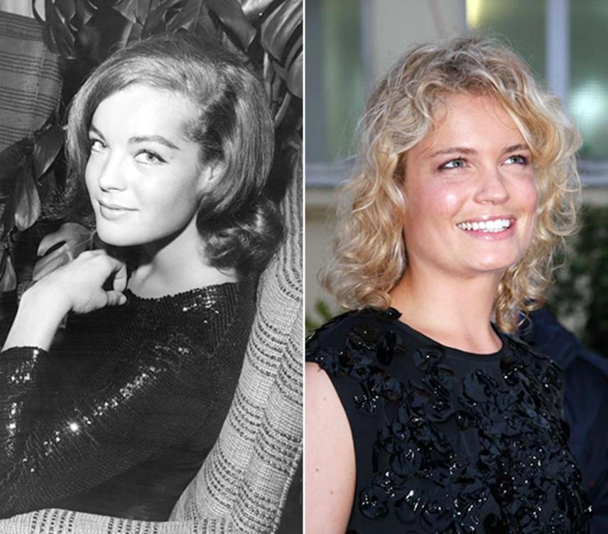 Sarah Biasini le sem tagadhatná híres édesanyját, annyira hasonlítanak egymásra. Nem Sarah volt azonban Romy Schneider első gyermeke, 1966-ban ugyanis született egy fia, David, aki 1981-ben 14 éves korában egy balesetben vesztette életét.