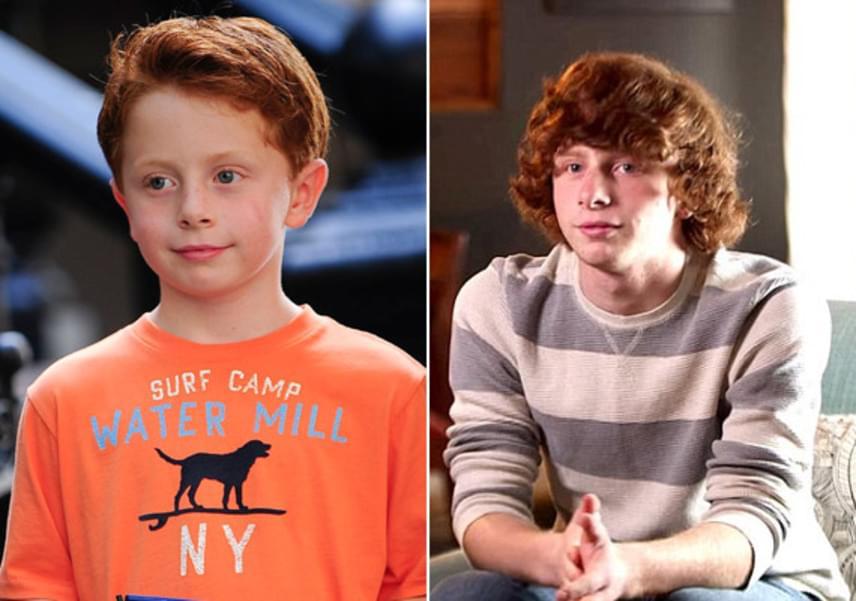 Így megnőtt Joseph Pupo, aki a vörös hajú kis Brady Hobbest alakította a szériában. Joseph ma már nem színészkedik, inkább a tanulásra koncentrál.