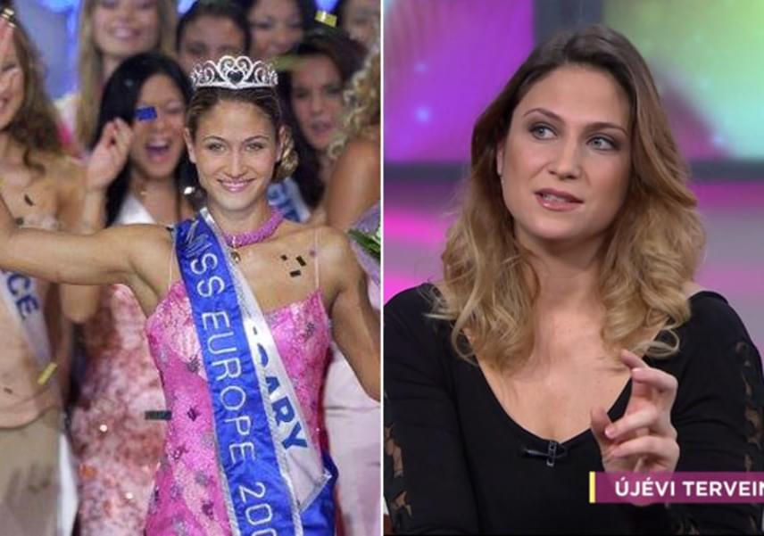 Laky Zsuzsi 2003-ban lett Miss Európa. A 32 éves sztár 2017-ben elérkezettnek látja az időt, hogy a gyereknevelés mellett karrierjére is koncentráljon.