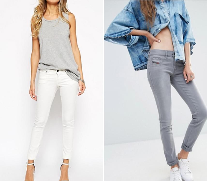 A csípőnadrág egyre inkább kimegy a divatból. A magas vagy középmagas derekú nadrágok, amiket érdemes helyette hordanod. De ne keseredj el, a csípőnadrág a legtöbb alakra nem is kifejezetten előnyös, úgyhogy nem lesz nehéz megbirkózni a veszteséggel.