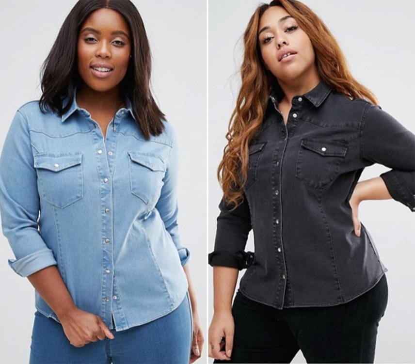 Az ingek különösen előnyösek lehetnek számodra, és bátran válassz akár vastagabb anyagot is. Arra ügyelj, mint a ruhánál, hogy ne legyen túl feszülős fazon, de mégis karcsúsítva legyen. Így kitűnően kiemeli majd nőies vonalaidat.