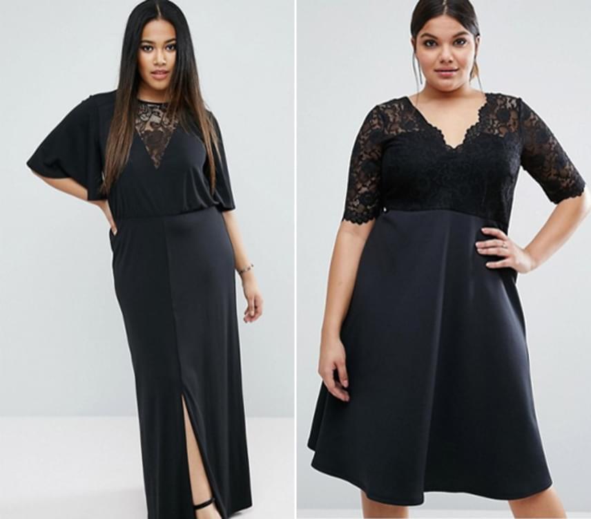 Minden nőnek kell egy kicsit hosszabb fekete ruha a szekrényébe, amit bárhova fel tud venni. Érdemes úgy választani, hogy megtörje valami az egységet, mert ez előnyös lehet az alakod számára.