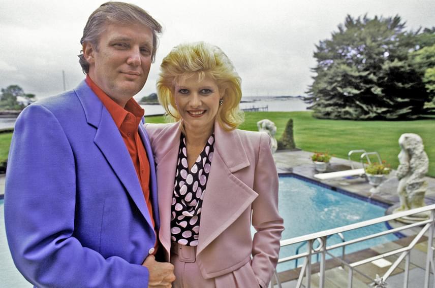 Donald Trump 1977. április 7-én vezette oltár elé Manhattanben Ivana Zelníčková cseh modellt, aki három gyermeket szült neki: Donald Jr. 1977-ben, Ivanka 1981-ben, Eric pedig 1984-ben látta meg a napvilágot.