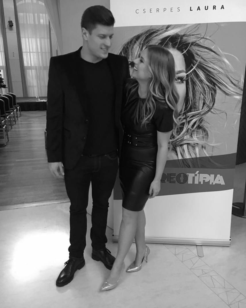 A szerelmespár december végén: Cserpes Laura második önálló albumán, a Sztereotípián szerelmes dal is található, amit Gyurta Daninak írt.