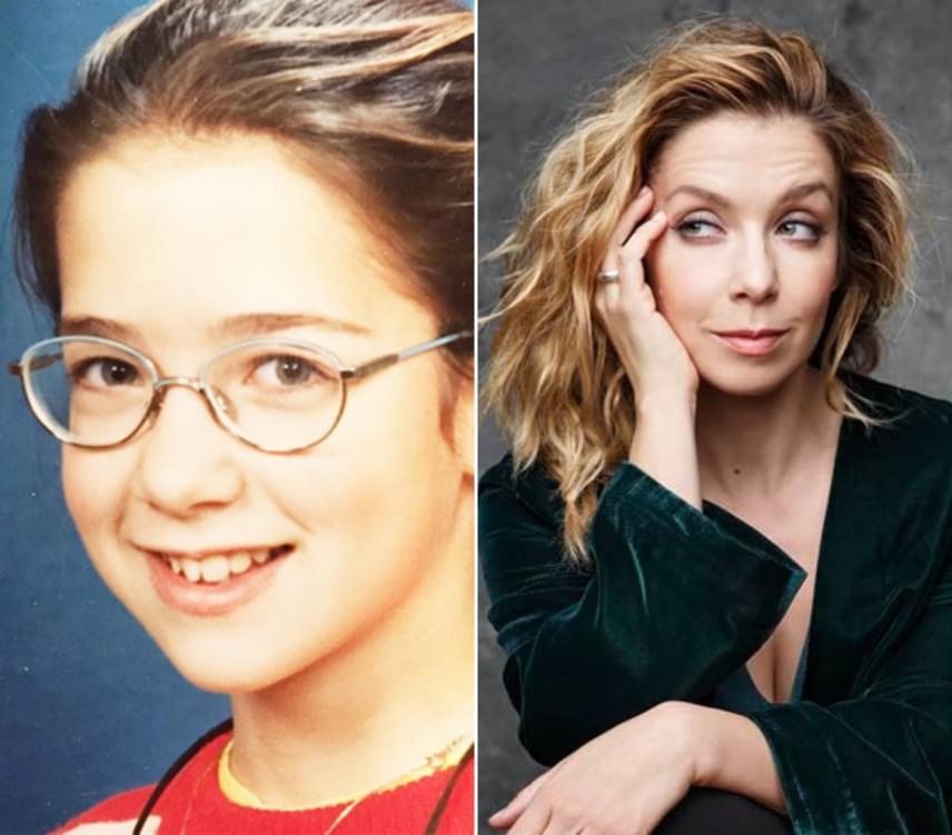 Kovács Patrícia ilyen tündéri kislány volt három évtizeddel ezelőtt, mielőtt elbűvölő színésznőként megismerte az egész ország.