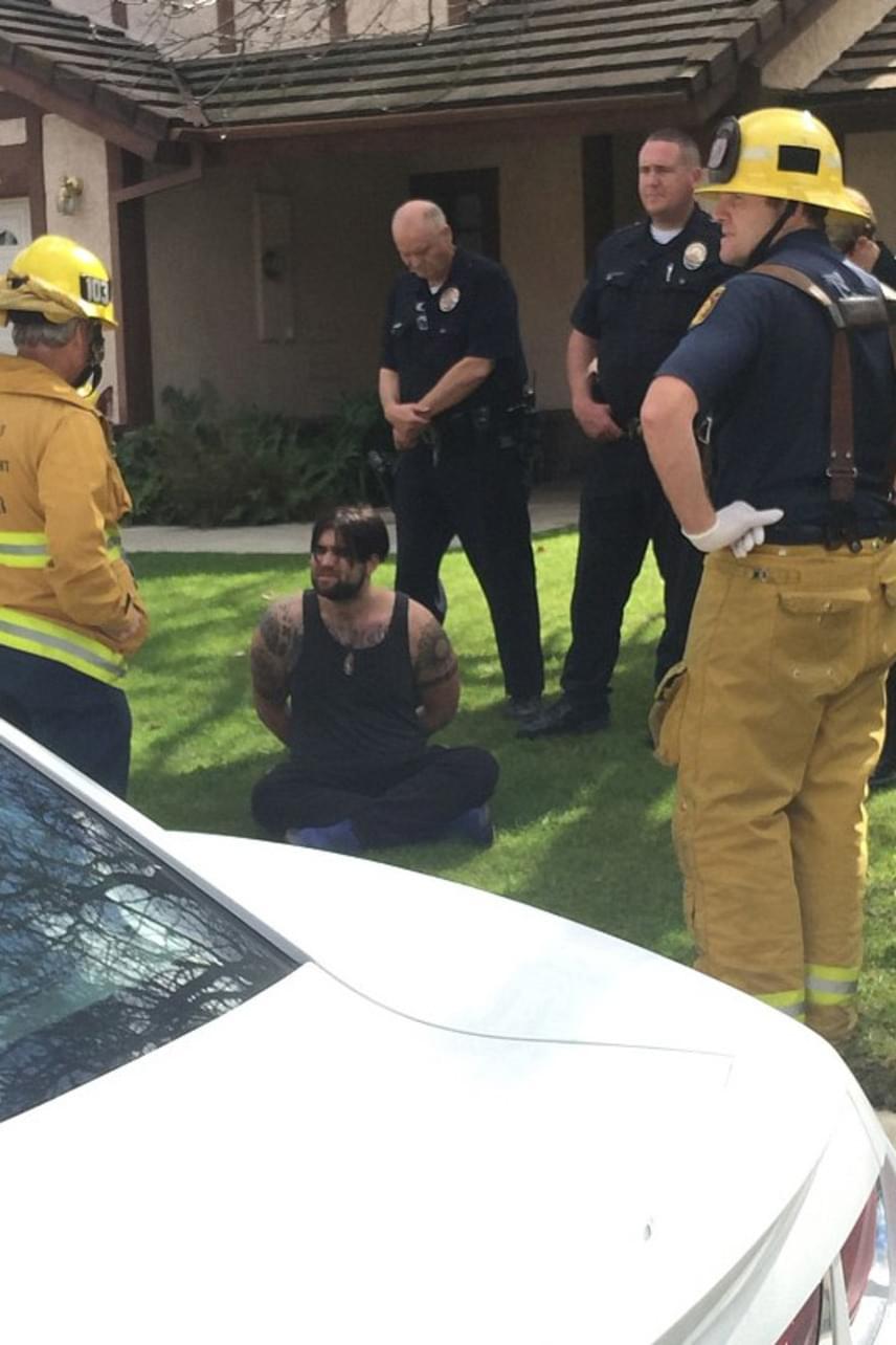Weston Cage ittasan ült autóba és a környékbeli postaládákat döntögette ki, amikor elkapták a rendőrök. Megpróbált elmenekülni, de sikerült elkapniuk és bilincsben várt a sorsára.