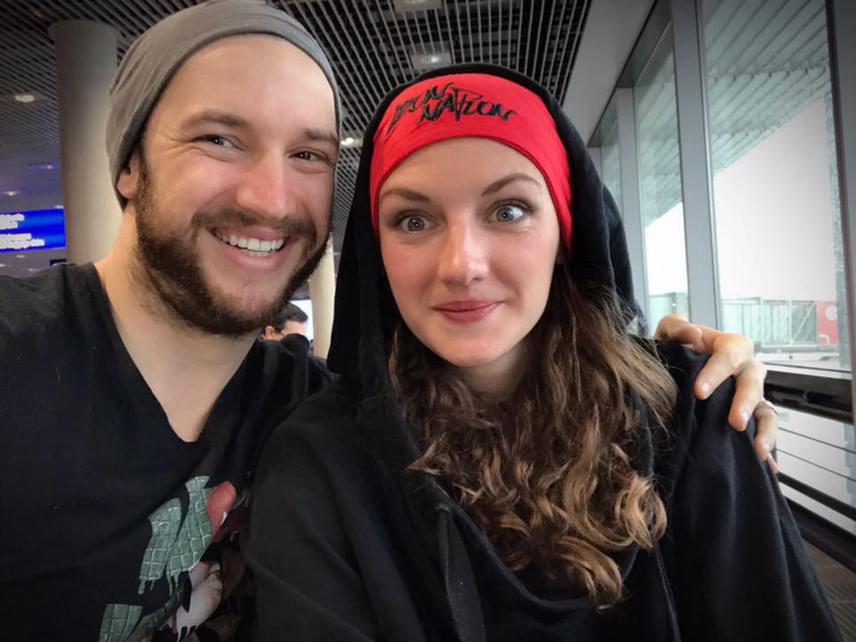 Hosszú Katinka és férje, Shane Tusup három első, egy-egy második illetve harmadik helyezés után végre lazított is Nizzában.